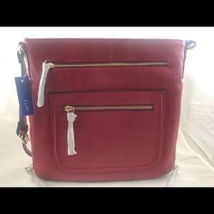 Super Cute Apt#9 Fay Crossbody Red Bag.